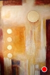 "Shehechanyanu by Filomena Booth Acrylic ~ 72"" x 48"""