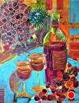 """Zinfandel by Filomena Booth Acrylic ~ 14"""" x 11"""""""