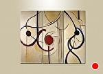 "Ribbon Dance by Filomena Booth Acrylic ~ 48"" x 66"""