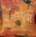 """It's a Matter of Time by Filomena Booth Acrylic ~ 36"""" x 36"""""""