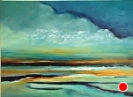 "Caladesi Sunset by Filomena Booth Acrylic ~ 18"" x 24"""