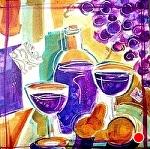"Rioja II by Filomena Booth Mixed ~ 12"" x 12"""