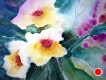 Primrose by Filomena Booth Watercolor ~ 16 x 20