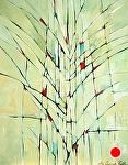 "Light Elements by Filomena Booth Acrylic ~ 30"" x 24"""