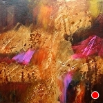Wildfire by Filomena Booth Acrylic ~ 30 x 30
