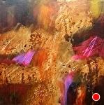 Wildfire by Filomena Booth Acrylic ~ 30 x 30