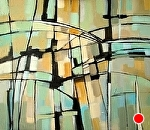 Momentum Series #3 by Filomena Booth Acrylic ~ 26 x 30