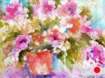 """Good Morning! by Filomena Booth Watercolor ~ 11"""" x 14"""