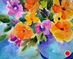 """Nature's Melody by Filomena Booth Watercolor ~ 12"""" x 16"""""""