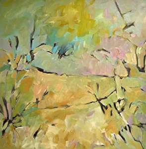 "New Terrain by Filomena Booth Acrylic ~ 24"" x 24"""