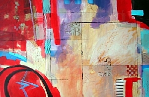 Midway by Filomena Booth Acrylic ~ 24 x 36