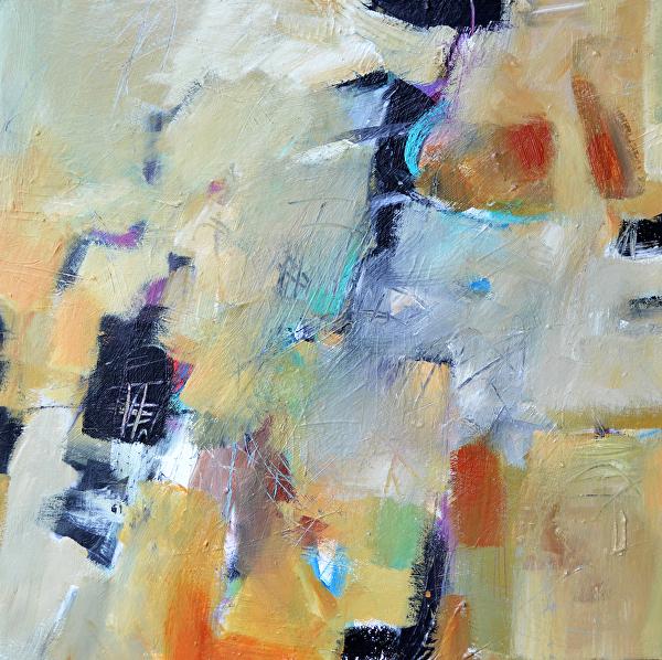 "A River Runs Through It by Filomena Booth Acrylic ~ 20"" x 20"""