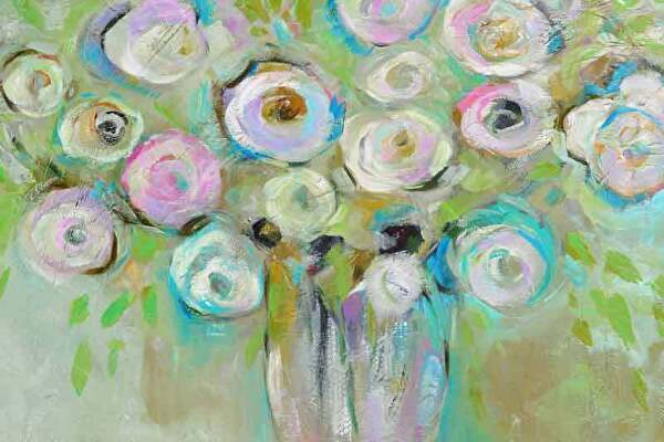 "Springtime Wishes by Filomena Booth Acrylic ~ 24"" x 36"""