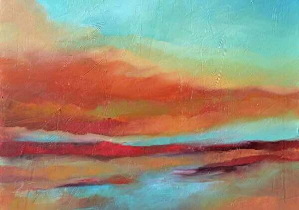 "Last Light by Filomena Booth Acrylic ~ 24"" x 30"""