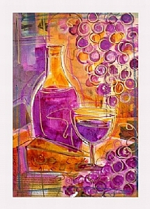"Tuscan Delight I by Filomena Booth Mixed ~ 20"" x 16"""