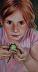 Sophia's frog by Denise Racine