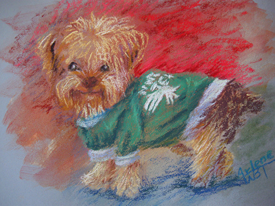 Mean Green Mutt - Pastel