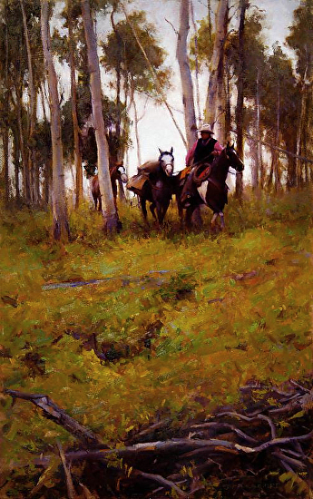 Threadin' The Aspens - Oil