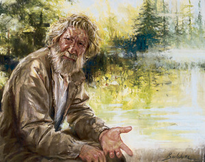 """Mountain Man"" by Greg Biolchini, PSAM Pastel ~  x"