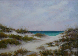 "Melody Bogle ""The Dunes of Deer Lake"" by  Pastel Society of North Florida Pastel ~  x"