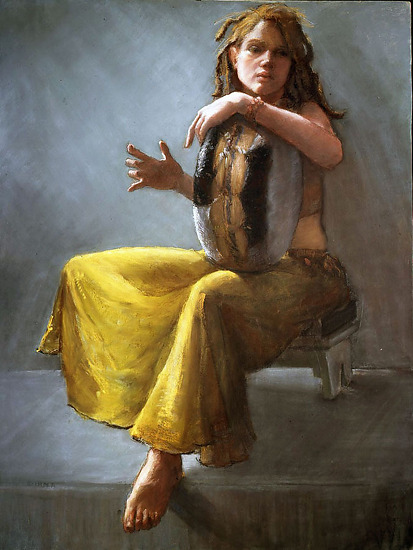"Diana DeSantis ""Little Drum"" Best of Show by  Pastel Society of North Florida Pastel ~  x"