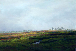 "Wendy Devarieux ""Disappearing Mists"" Honorable Mention by  Pastel Society of North Florida Pastel ~  x"