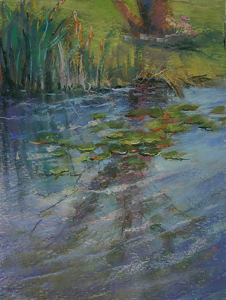 "Barbara Reich ""Turtle Cove"" by  Pastel Society of North Florida Pastel ~  x"