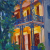 Garden District Blue and Yellow