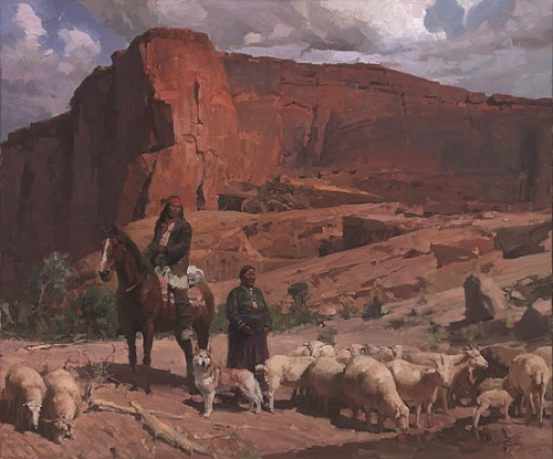 Canyon de Chelly - Oil