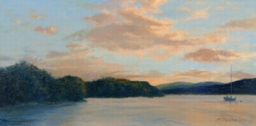 Day's End, Garrison's Landing - Oil