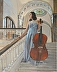 Young Cellist by Janet Alsup