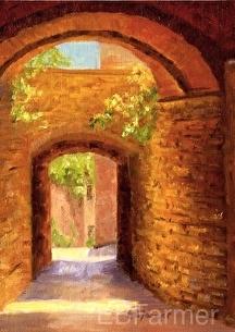 Passages by Elaine Farmer Oil ~ 7 x 5