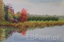 Morning Dew by Elaine Farmer Pastel ~ 6.5 x 9 image size