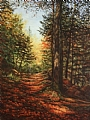 Uphill Path by Elaine Farmer Oil ~ 24 x 18