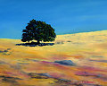 California Heat I by Elaine Farmer Oil ~ 9 x 12