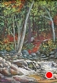 Rushing Water by Elaine Farmer Pastel ~ 12 x 9 image size