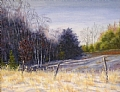 Winter Shadows by Elaine Farmer Oil ~ 8 x 10