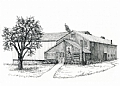 Sunnycrest Farm by Elaine Farmer Print ~ 5 x 7 print