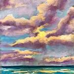 Mary Jane Erard - Clouds - Zoom Pastel Class by MJ Erard on Jan. 23, 2021
