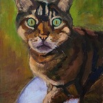 Darlene Katz - Third Annual Reigning Cats and Dogs Art Show, a small image fine art show