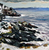 Vermette-1-Winter View of the Headlands, Monhegan