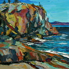 """Great Head in March, Acadia National Park"""