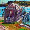 Trafton's Wharf, Swans Island