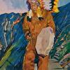 Wabanaki Medicine Man on the Tableland