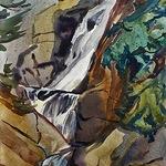 Michael E. Vermette - Plein Air Watercolor Workshop, Rangeley, Maine