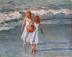 Red Beach Ball by David Harlan