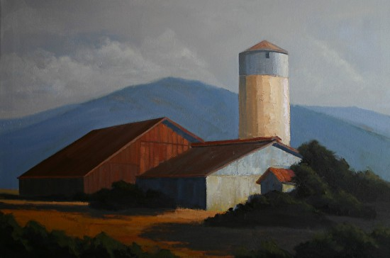 Petaluma Morning - Oil