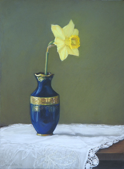 Daffodil And Limoge - Pastel