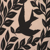 "Bird with Leaf (detail) by Susan Parmenter hand cut paper ~ 5"" x 7"""
