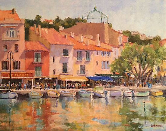Colors of Cassis - Oil